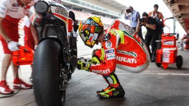 Ducati boucle un test positif à Catalunya