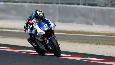 Yamaha completa teste bem sucedido na Catalunha