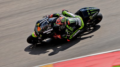 Crutchlow and Dovizioso undertake successful Aragon test