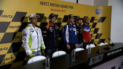 Hertz British Grand Prix: la conferenza stampa