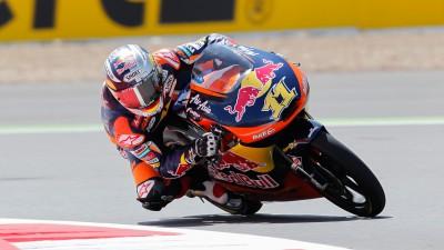 Cortese mais rápido na segunda sessão de Silverstone