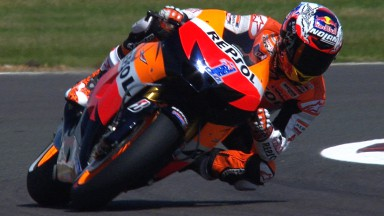 Stoner tops second MotoGP™ free practice at Silverstone