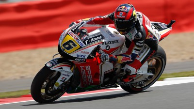 Bradl takes fifth at Silverstone