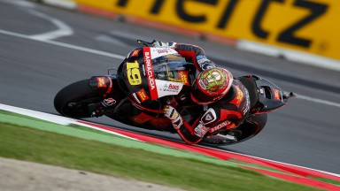 Good first day at Silverstone for Bautista