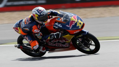 Cortese on top in final Moto3™ free practice at Silverstone