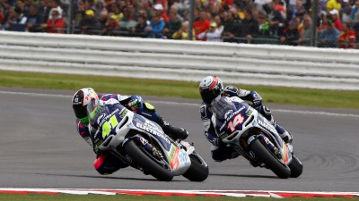 Power Electronics Aspar pair score CTR one-two at Silverstone