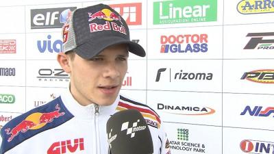 Bradl, satisfecho con su octavo puesto en Silverstone