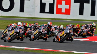 Red Bull MotoGP Rookies Cup: Oettl leads Deroue and Alt to Assen