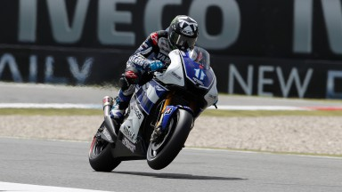 Spies lays down benchmark in second free practice at Assen