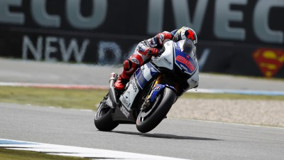 Lorenzo scores front row in difficult Assen qualifying