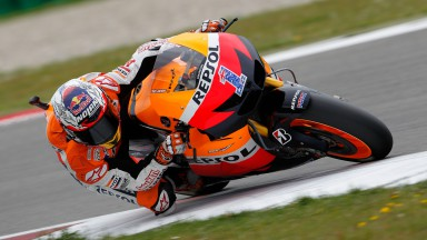 Fantastic qualifying for Stoner and Pedrosa