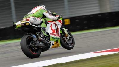 Fourth row for Barberá in rain-hit Assen