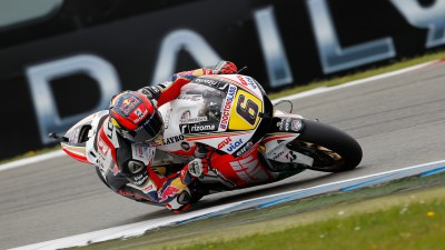 Best qualifying yet for Bradl at the Dutch TT