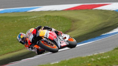Pedrosa leads morning warm-up at sunny Assen