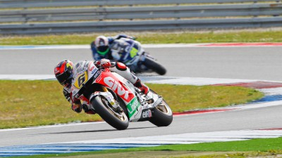 Crash misery for Bradl in Assen