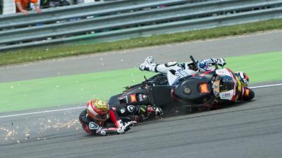 Lorenzo pasa página y se centra en Sachsenring