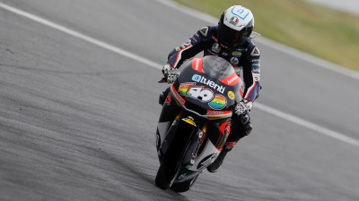 Espargaró finishes difficult second free practice on top in Germany