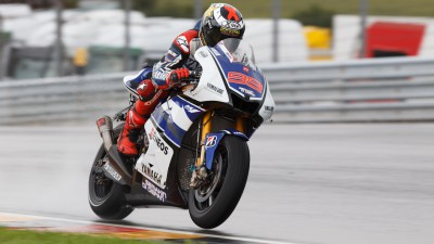 Lorenzo quick to find form in Sachsenring