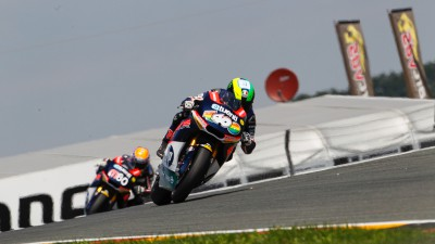 Espargaró once again on top at the Sachsenring