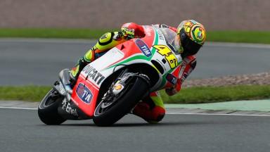 Rossi s'attendait à faire mieux sous la pluie du Sachsenring