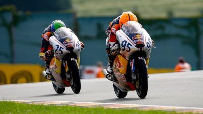 Red Bull MotoGP Rookies: Deroue schlägt Albert auf dem Sachsenring