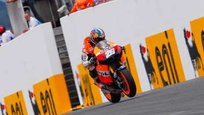 Pedrosa charges to first season win in dramatic Sachsenring race