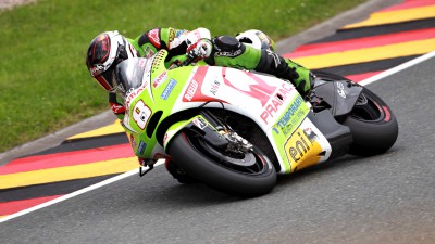 Barberá goes one better at the Sachsenring