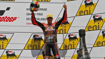 A.デアンジェリス、ザクセンリンクで2年連続してシーズンの初表彰台を獲得