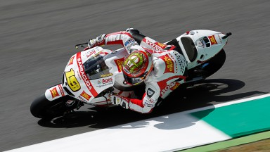 Difficult day for San Carlo Honda Gresini squad
