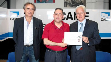 Iodaracing premiata da ItaliaViva a Terni