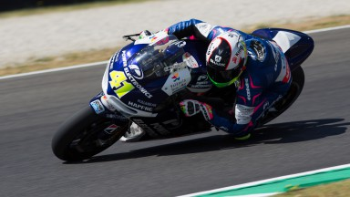 New chassis and fairing for Aspar duo at Mugello
