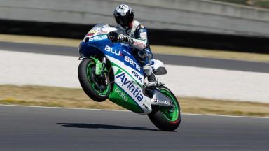 Avintia Blusens, con buenas sensaciones en el test MotoGP™