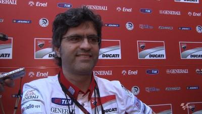 Preziosi confirme le nouveau moteur de Ducati pour Laguna Seca