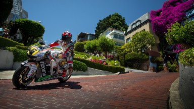 Bradl descubre San Francisco a bordo de la RC213V