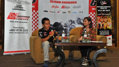 Khairuddin sets sights on podium for second part of season