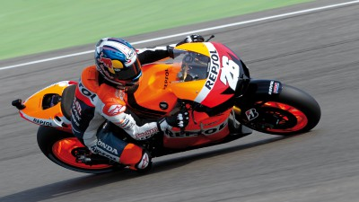 Pedrosa leads the way in first free practice at Laguna Seca