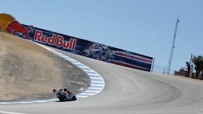Difficult first day at Laguna Seca for San Carlo Honda Gresini