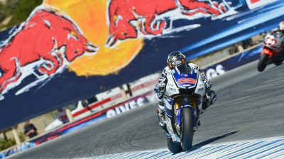 Last-gasp pole for Lorenzo in thrilling Red Bull U.S. Grand Prix qualifying