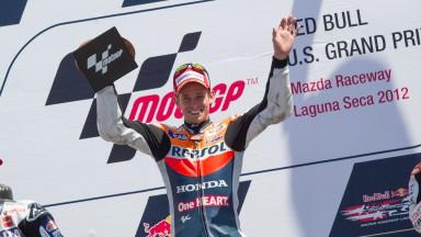 ストーナーが今季4勝目、ペドロサが9度目の表彰台