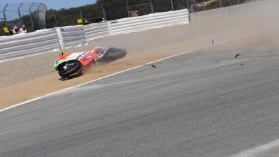 Rossi vive un fin de semana para olvidar