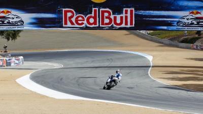 Los pilotos de Avintia Blusens puntúan en Laguna Seca