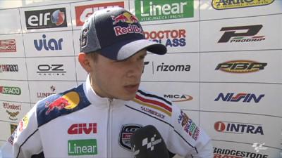Bradl prend la 7ème place pour son premier GP à Laguna Seca