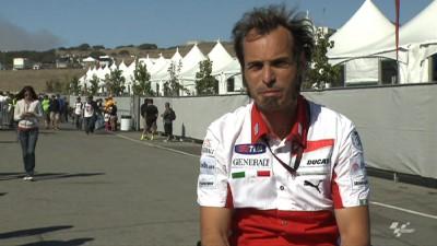 Iannone y Redding probarán la Ducati en Mugello