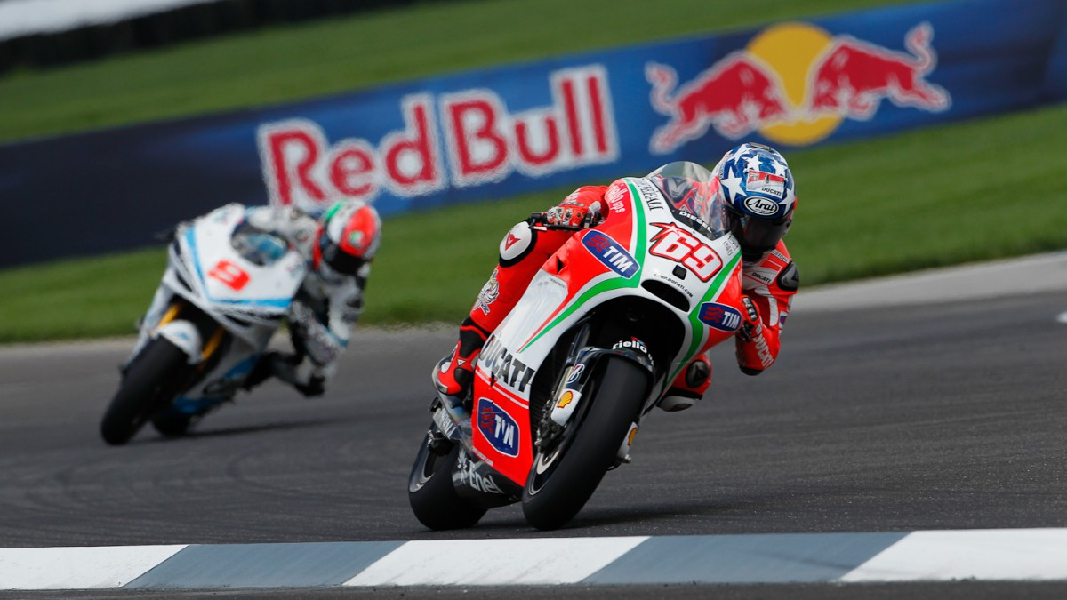 Difficult first day for Ducati Team at Indianapolis