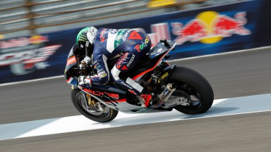 Espargaró fastest in final free practice at Indianapolis