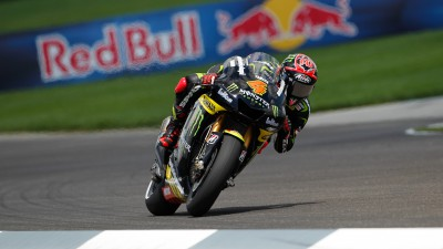 Dovizioso scores front row spot in dramatic Indianapolis qualifying