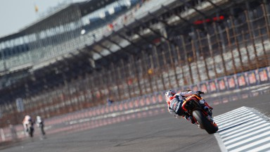 Pedrosa on pole as Stoner suffers big crash
