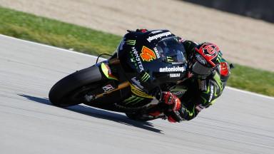 Dovizioso brinda un quinto podio al Monster Yamaha Tech3