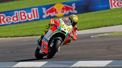 Rossi septième à Indianapolis, Hayden incertain pour Brno