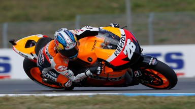 Pedrosa sets the tone in Brno second free practice